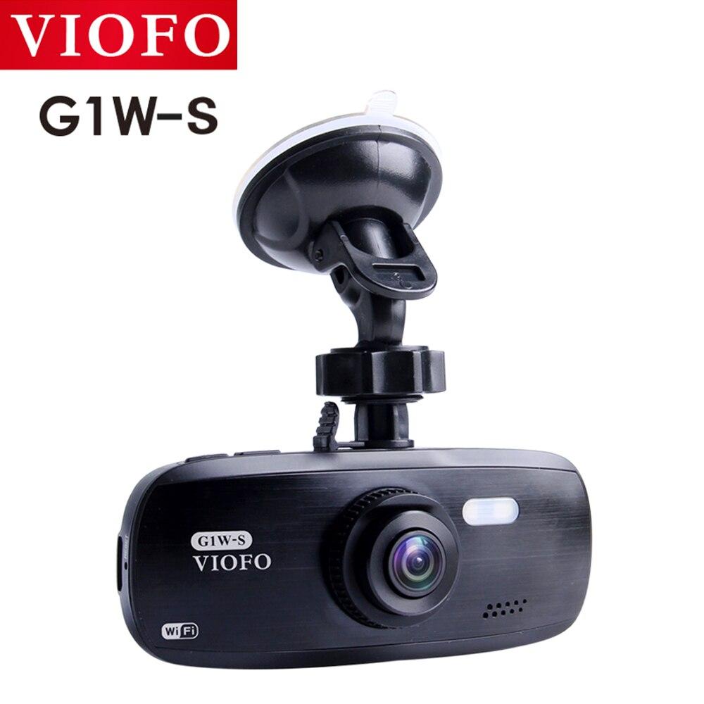 VIOFO G1W-S WI-FI и GPS Поддержка автомобиля Камера Модернизированный DVR HD 1080P Dash Cam супер конденсатор с алюминиевой крышкой, видеокамера IMX323
