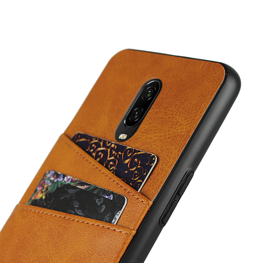 Pu Leather Card Holder Wallet Phone Case for Oneplus 7 Pro 7 6t 6 5t 5 Silicone Frame Cover One Plus 7 1+ 7pro 6t Oneplus7 128gb