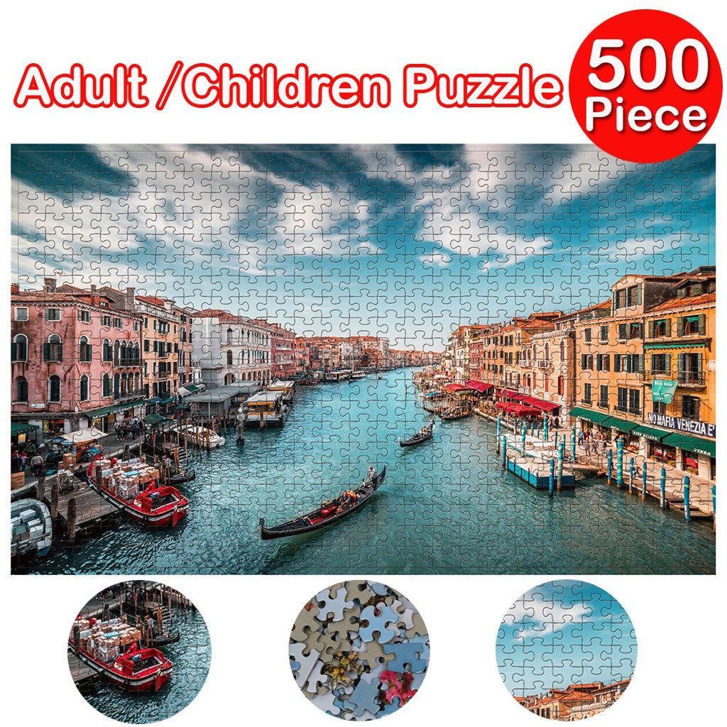 развивающие игрушки Adults Puzzles 500 Piece Large Puzzle Game Interesting Toys Personalized Baby Toys Gift