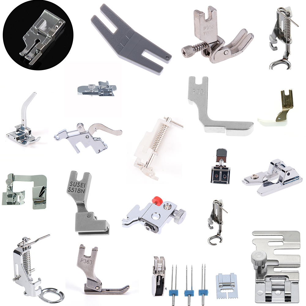 1PCS Sewing Machine Feet Presser Sewing Machine Foot Sewing Multi-functional Accessories & Prop Kits For Brother Singer Janome