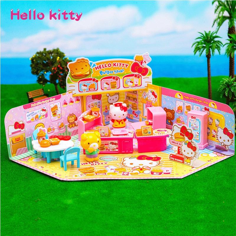 Hello Kitty Hello Kitty Play House Toys Ice Cream Shop GIRL'S Play House Toys