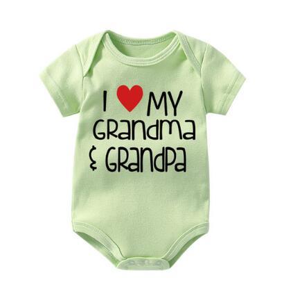 Baby Romper My Nana in Montana Loves Me