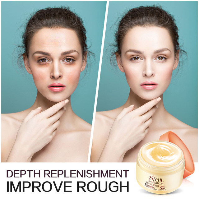 LAIKOU Snail Sleeping Mask Korean Cosmetics Face Treatment  Moisturizing Eyes Nourish Oil control Whitening  Night Cream 2