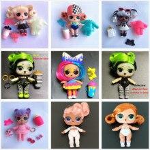 Выберите 1 штуку L.O.L. Серия сюрпризов, 5 волос, меняющий цвет, 8 см, куклы с волосами старшей сестры, Лол, набор, детская игрушка для игр, подарок