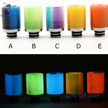 sub two 2019 Noctilucent 510 Drip Luminous Tip E-Cigarette Mouth For Vape RDA Atomizer RDTA