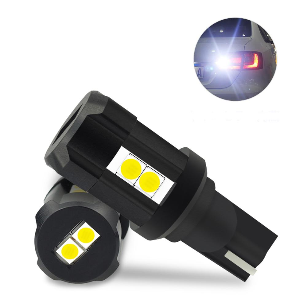 AUXITO 2x W16W LED T15 T16 Canbus No OBC Error LED Car Reverse Backup Light For <font><b>Volkswagen</b></font> <font><b>Golf</b></font> <font><b>4</b></font> 5 7 6 MK2 <font><b>MK4</b></font> MK6 MK7 CC GTI image
