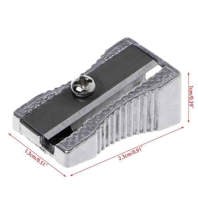 โลหะดินสอ Sharpener น่ารักคลาสสิกแต่งหน้าปากกา Sharpener TO ดินสออุปกรณ์กลับโรงเรียนสำหรับสาวเครื่องเขียน Sharpener GI R0U7