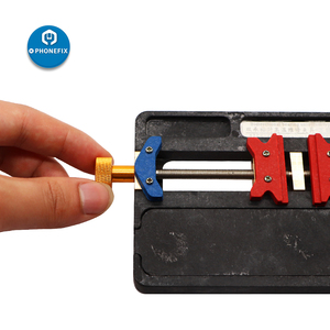 Image 4 - WL מתקן אוניברסלי גבוהה טמפרטורת PCB IC שבב האם לנענע מתקן מחזיק טלפון הלחמה מתקן עבור iPhone תיקון