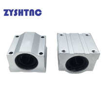 3d-Printer-Parts Bearing-Block Cnc-Router SCS6UU Linear-Ball SCS20UU SCS8LUU 4pcs/Lot