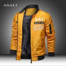 2020 Autumn Winter Jackets and Coats Solid Military Parkas Men Windbreaker Pilot Coat Army Men's Bomber Jackets Cargo Flight