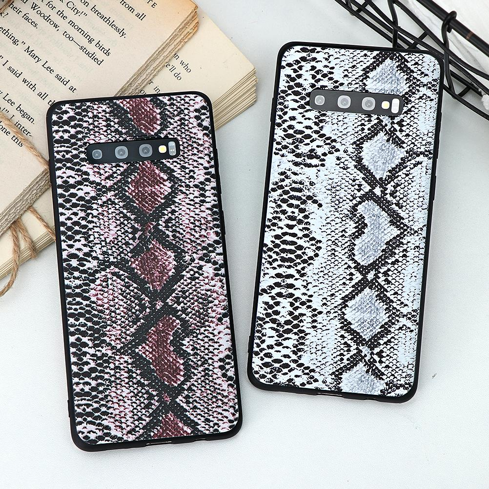 3D Embossed Snake Skin Case For Samsung Galaxy Note 10 Pro 9 8 S10 S9 S8 Plus S7 Edge S10e A70 A50 A40 A30 A20e A8 A7 2018 Cover