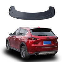 For Mazda CX 5 CX5 2017 2018 2019 ABS Plastic Unpainted Primer Color Rear Roof Spoiler Trunk Wing Lip Boot Cover Auto Part