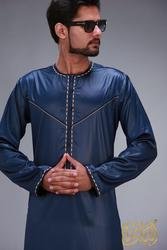 Islamische Kleidung Männer Robe Langarm Arabisch Kaftan Islam Arabischen Kleid Männer Saudi Arabien Muslimischen Kostüme Kurta Pakistan Indische