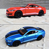 1:32 Mustang Shelby GT350 Alloy Car Model Diecasts & Toy Sound Collectibles Cars Toy Birthday Present Boy Free Shipping