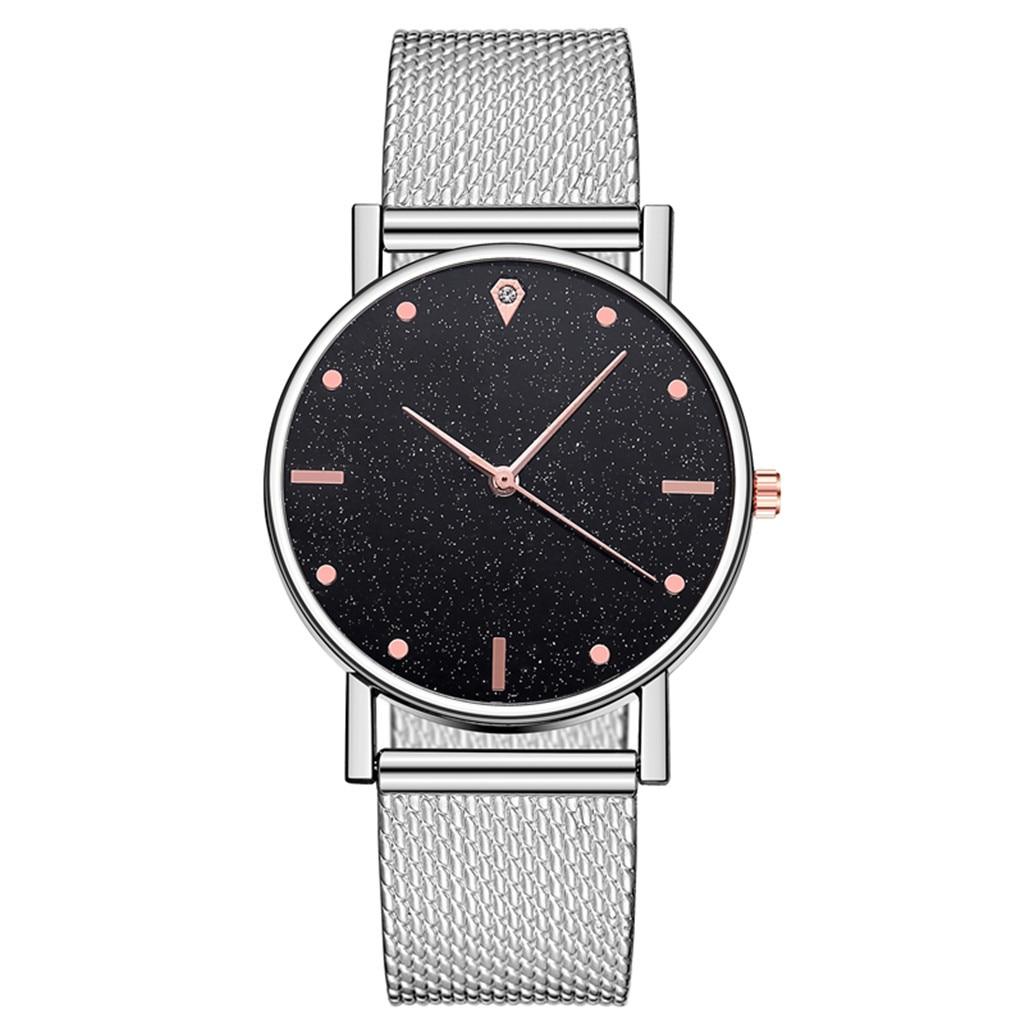 New Brand Luxury Watches digital watch Stainless Steel Dial Simple Casual Bracele Watch reloj mujer relogio feminino 4