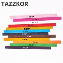 Керамическое волокно абразивный камень чешуйчатая палочка отличный эффект прочный шлифовальный резки TAZZKOR полировка 1006 м инструменты