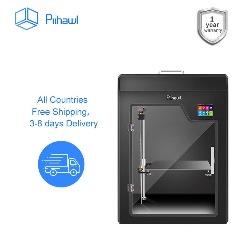 Piihawl Explore 3д принтер, FDM Большой 3D принтер с 13 аксессуарами для инструментов, Полностью собранный высокоточный 3D-принтер для большего размера печати, 3d принтеры 3д принтер пластик 3 d принтер 3 д принтер