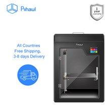 Piihawl explore a impressora 3d, grandes impressoras 3d de fdm com 13 acessórios, máquina de impressão 3d totalmente montada para impressão maior