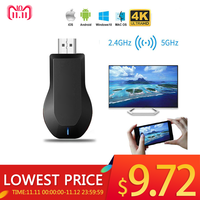 Per AnyCast M4 Plus Wireless HDMI Media Video Wi-Fi 1080P Display Dongle Ricevitore Android Adattatore TV Bastone DLNA Airplay miracast