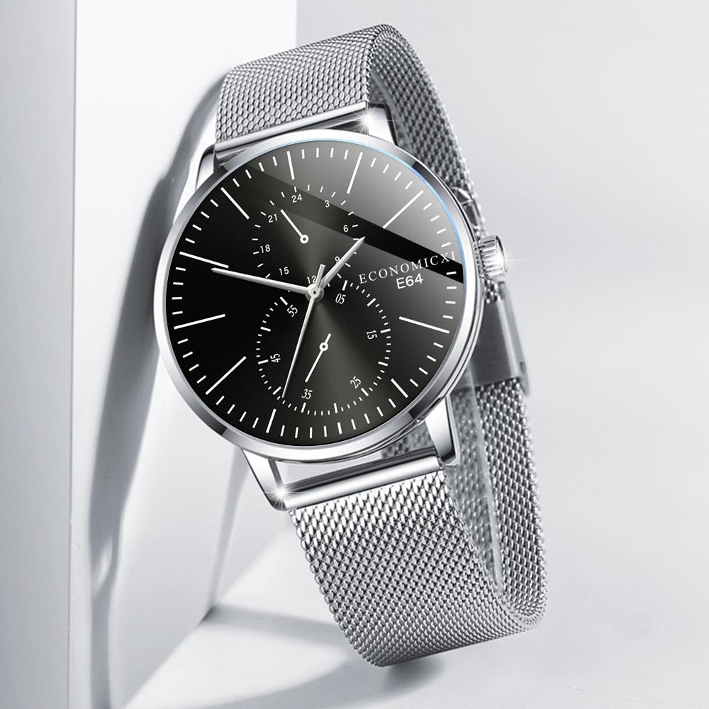 Retro Men Watch Quartz Luxury Beautiful Design 2021