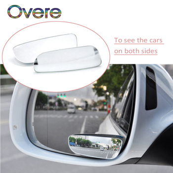 Overe 1Set Car Rearview Mirror 360 Wide-angle Lens For BMW E60 E36 E46 E90 E39 E30 F30 F10 F20 X5 E53 E70 E87 E34 image