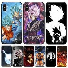 Dragon Ball goku DragonBall Coque Cover for iPhone X XS MAX XR 7 8 6 6S plus 5S SE Clear Soft Silicone Phone Case цена и фото