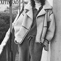 Женская куртка из овечьей шкуры ZA, утепленная Повседневная куртка из искусственного меха ягненка, пушистая уютная верхняя одежда большого ...
