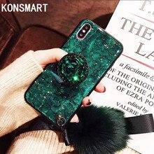 Glitter Diamond Soft Silicone Case For Huawei Enjoy 10S Case Enjoy 10 10P Enjoy 9s 9plus Enjoy9 Enjoy 8e lite Enjoy7s With Strap enjoy