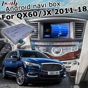 Android / carplay interface box for Infiniti QX60 / JX35 2012-2017, with G Q70 QX50 QX70 QX80 etc video interface by Lsailt image
