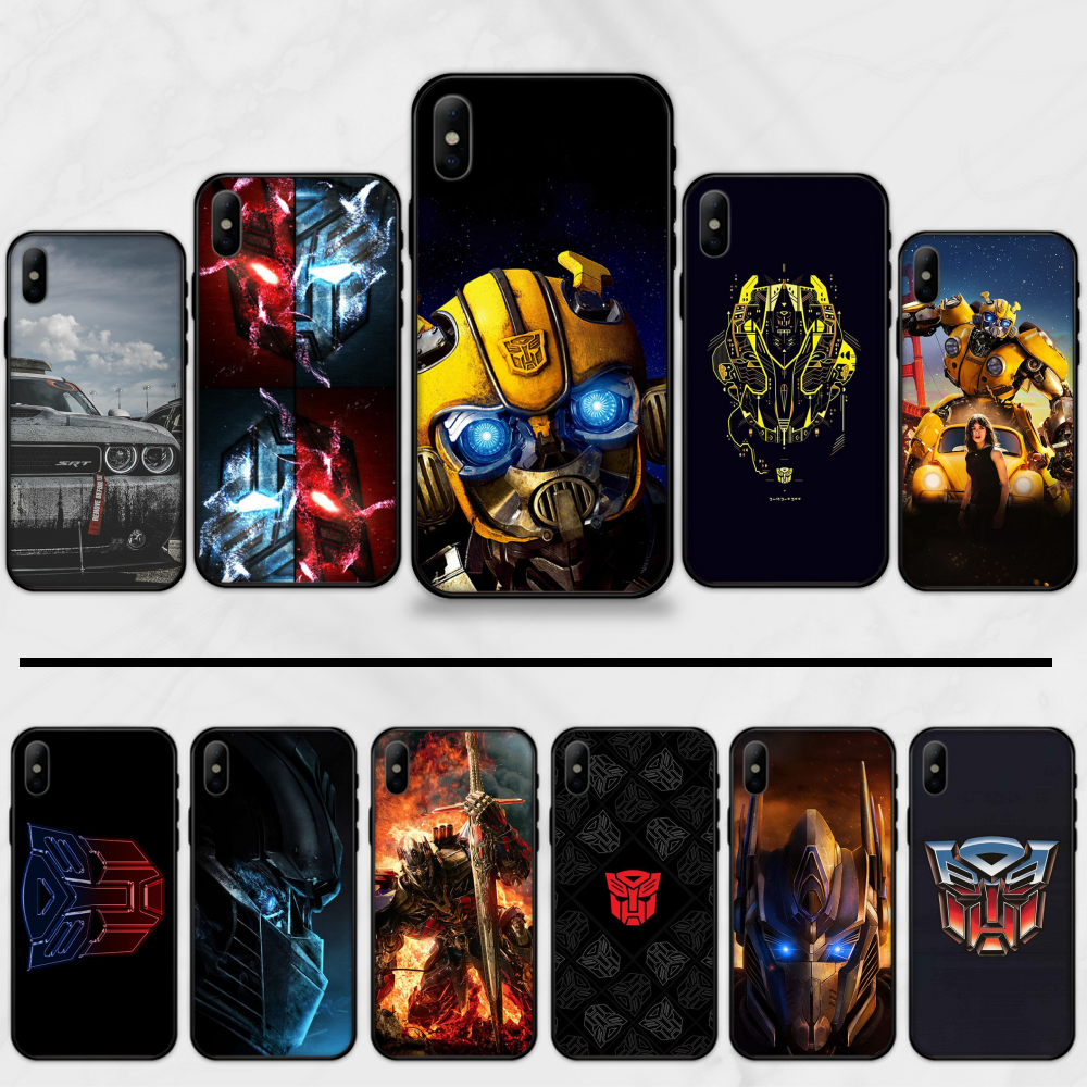 Bumblebee Transformers Shell Phone Case For iphone 5 5S SE 5C 6 6S 7 8 plus X XS XR 11 12 mini PRO MAX