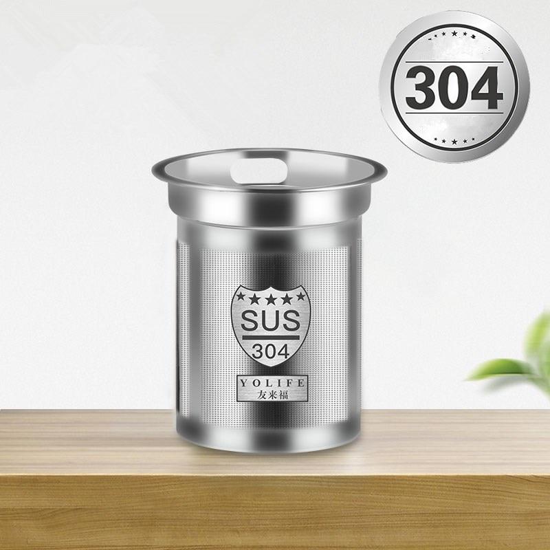Stainless Steel Mesh Kitchen Tea Infuser Reusable Strainer Loose Tea Leaf Spice Filters Drinkware Kitchen Accessories