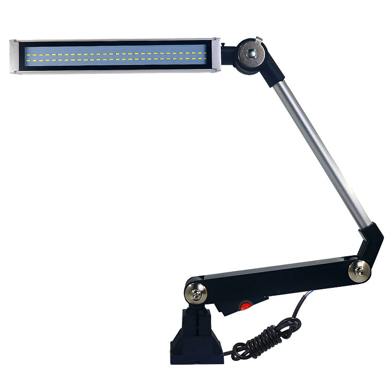 10W 24V/220V Waterproof Industrial Led CNC Machine Lamp Milling Sewing Machine Working Light Long Arm Foldable Flexiable Light