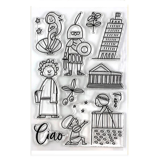 clear stamp  4x6in 12