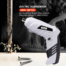 Cordless Power Drill Screw Installation Electric Screwdriver Rechargeable Mini Wireless Power Driver DC Lithium-Ion Battery