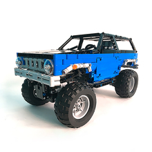 Building Blocks Compatible MOC-15217 Racing Trial Contest Truck Technic Bricks Gifts Fit lepining Diy Toy Christmas Gift compatible technic moc 2041 rock crawler building blocks bricks toys birthday gifts fit lepining brick diy toy christmas gift