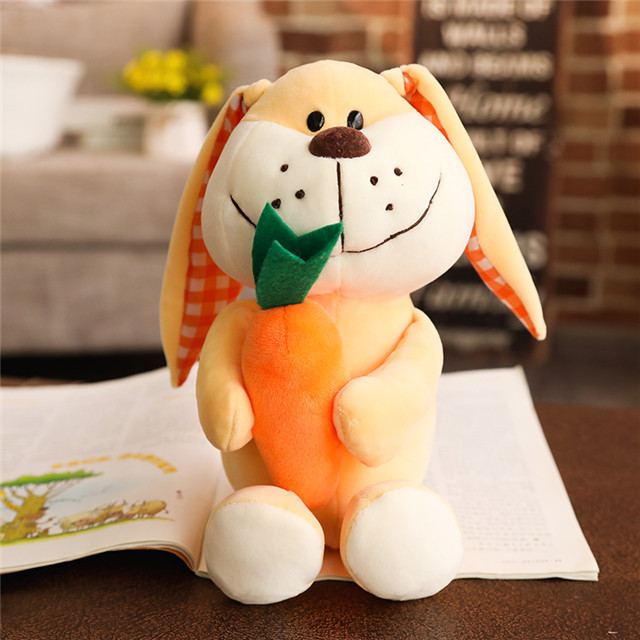 Cute super cute puppy plush toys for children to sleep and soothe ragdolls can be bitten by dolls to send children birthday gift