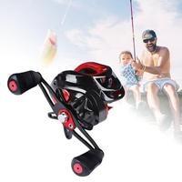 Outdoor Fishing Reel Aluminum Alloy 7:1:1 18+1BB Ball Bearings Left Right Hand Fishing Wheel Reel Fishing Accessories