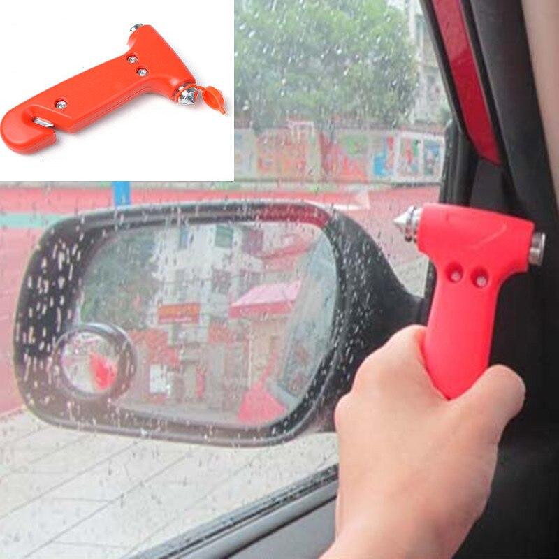 Emergency Car Windscreen Hammer with Seatbelt Cutter