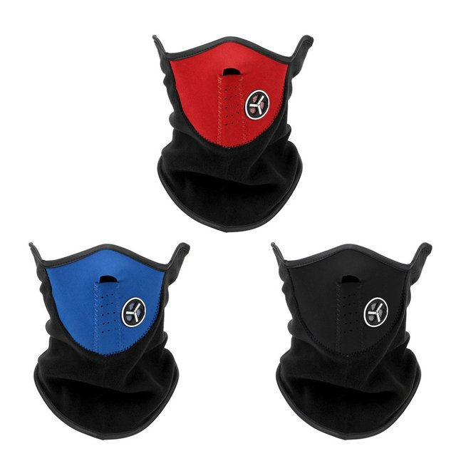 Warm Winter Ski Snow Scarf Motorcycle Half Face Mask Cover Outdoor Sport Neck Protector Motorcycle Face Mask 2