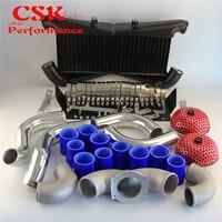 300ZX 트윈 터보 Fairlady Z32 VG30DETTBlack/Blue/Red 용 알루미늄 인터쿨러 키트