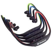 S9 الأصلي الرياضة سماعة لاسلكية تعمل بالبلوتوث سماعة يدوي سماعات تشغيل سماعة رأس ستيريو