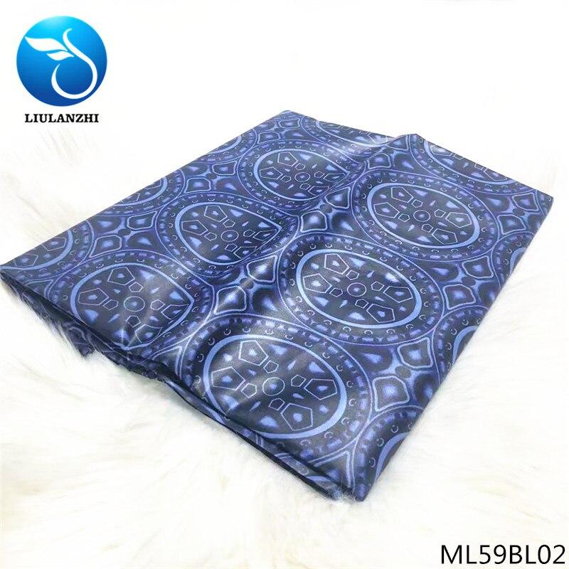 2019 material do laço africano bazin tecido