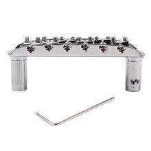 Chromowana metalowa podstawka do błotnika Jaguar Jazzmaster Guitar tanie tanio Tooyful CN (pochodzenie)