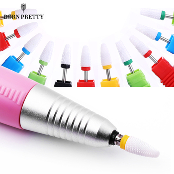 1 PC 2.35mm Nail Drill Bit Head Ceramic Grinding Head Nail Polishing Remove Gel Nail Polish Professional Nail Art Tools