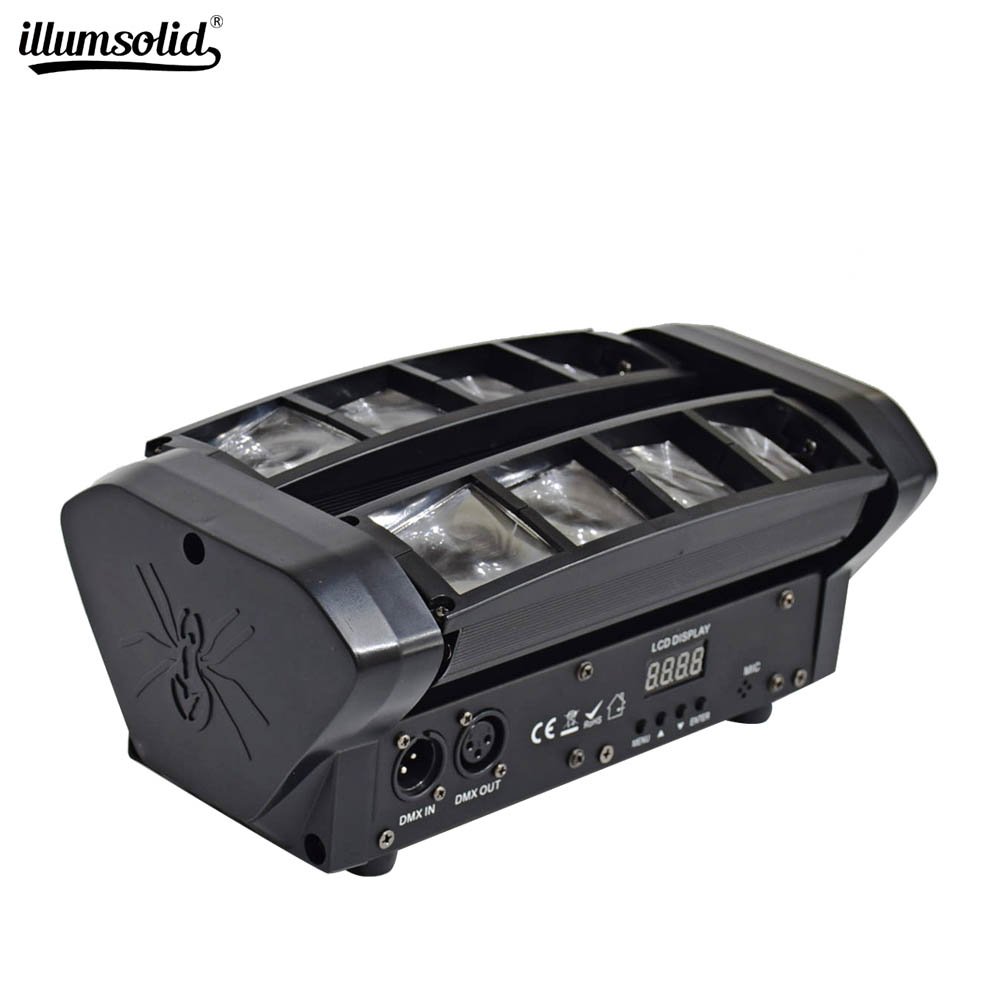Hot Sell Mini Moving Head DMX 512 Spider Light Good For DJ Nightclub Party
