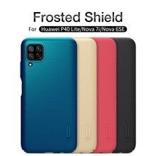 For Huawei P40 Lite Nova 7i Nova 6SE Case Nillkin Super Frosted Shield Hard PC Back Cover Protector Case For Huawei P40 Lite