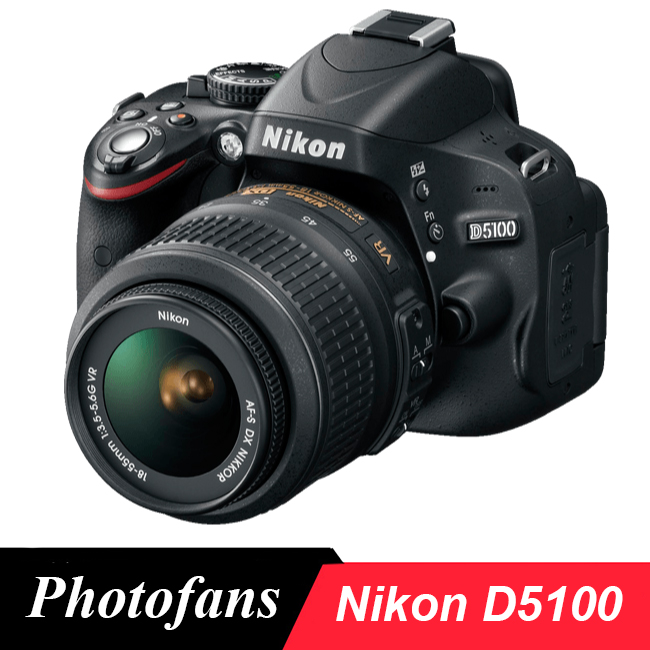 Камера Nikon D5100 Dslr с объективом 18-55 мм