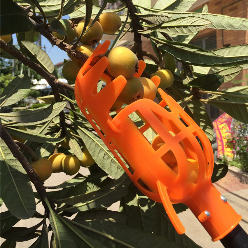Garden Tools Fruit Picker Head PlasticFruit Picking Tools Fruits Catcher Picking Apple Citrus Pear Peach Hand Tools