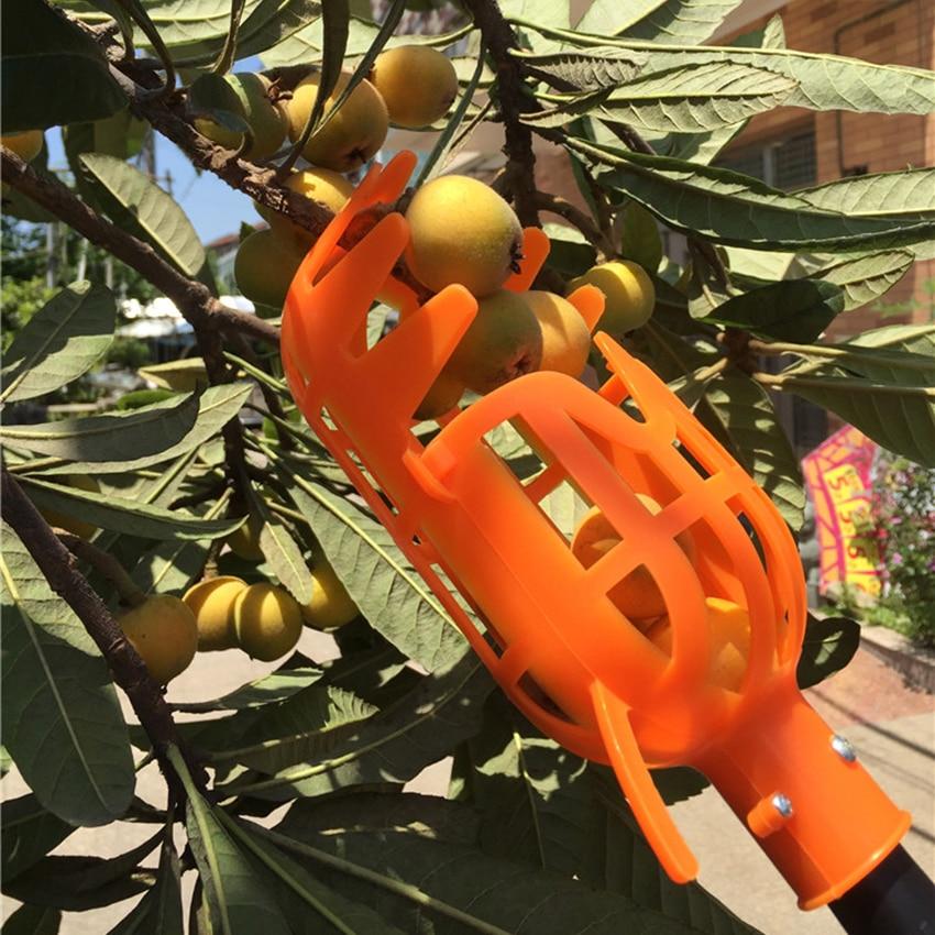 Garden Tools Fruit Picker Head PlasticFruit Picking Tools Fruits Catcher Picking Apple Citrus Pear Peach Hand Tools