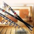 Accessoires de poisson de poteau de filature de mer de canne à pêche télescopique de voyage ultra-léger portatif de Fiber de carbone SEC88